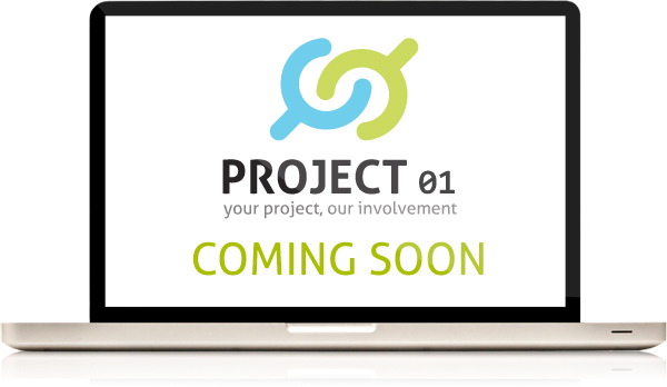 PROJECT 01, website coming soon